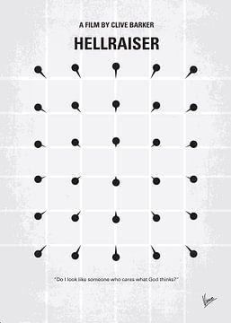 No033 My HELLRAISER minimal movie poster van Chungkong Art