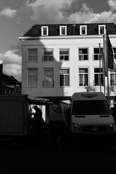 Marktstand auf dem Dam-Platz in der Silberstadt von van Buren Fotografie