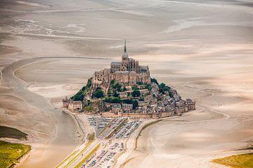 Le Mont Saint Michel sur Ben van Boom