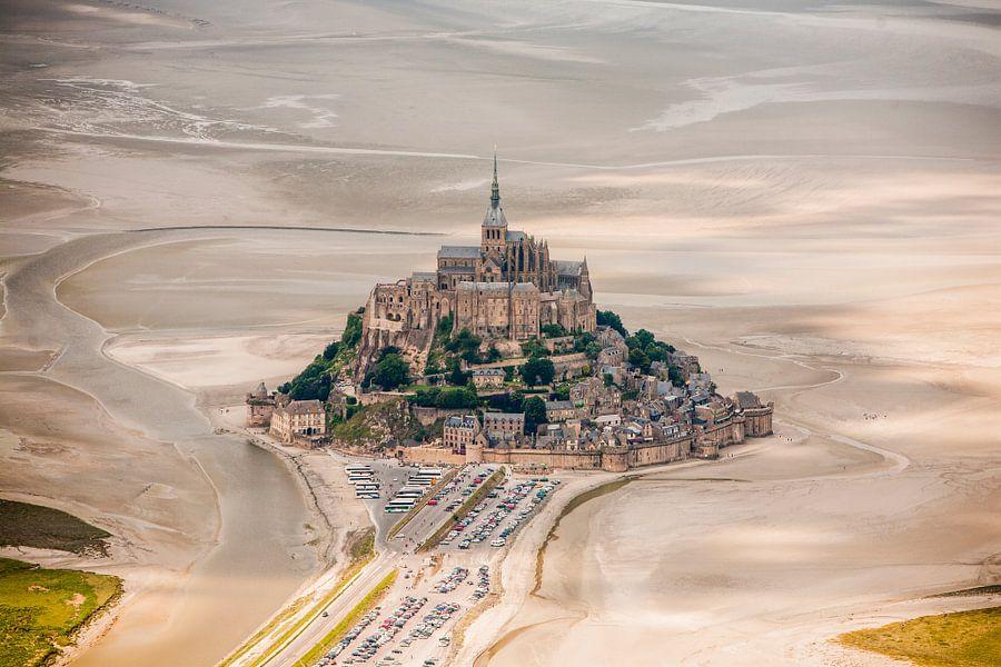 Le Mont Saint Michel van Ben van Boom