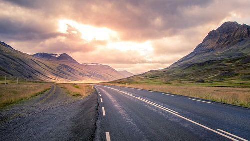 De weg naar Ijsland van