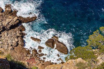 Section côtière au nord de Majorque sur Reiner Conrad