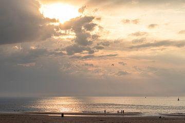 Sonnenuntergang bei Scheveningen Nord
