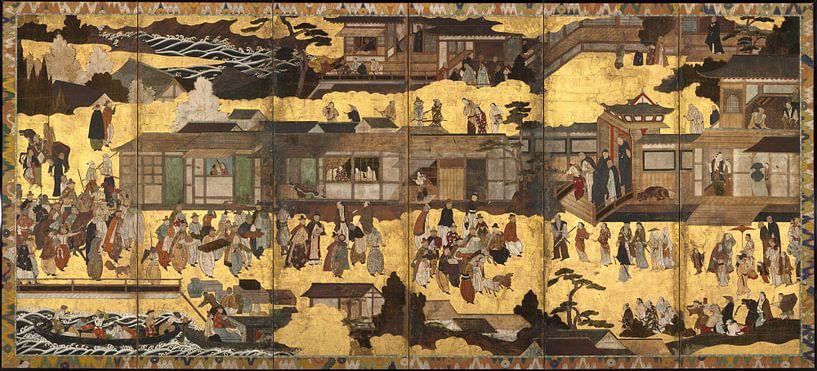 Ankunft der südlichen Barbaren. von 1000 Schilderijen