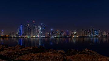 Dubai Marina Palm Jumeirah sur Michael van der Burg
