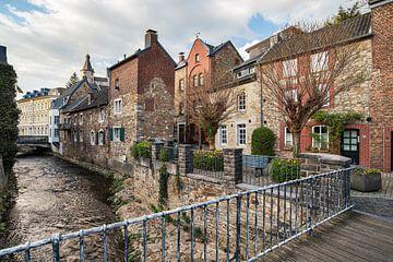 Koperen stad Stolberg - uitzicht op de oude stad van Rolf Schnepp