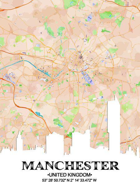 Manchester van Printed Artings