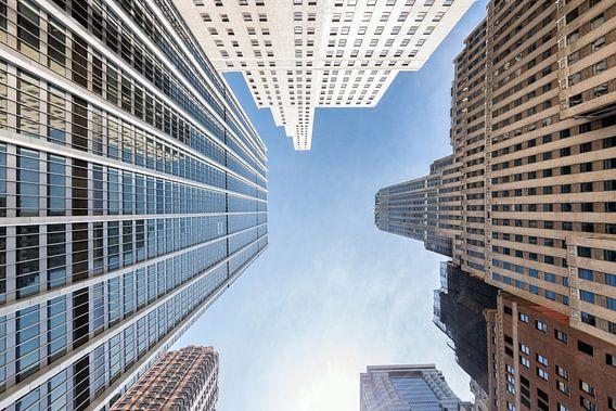 Manhattan in New York van Mark De Rooij