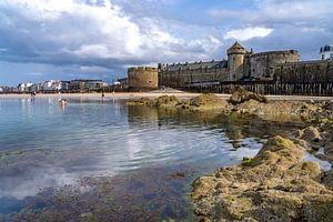 Saint Malo, Bretagne von Peter Schickert