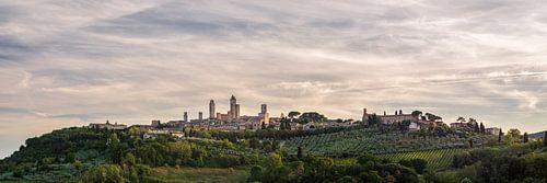 San Gimignano - Toscane - skyline panorama