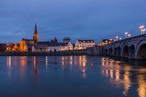 Maastricht bij nacht
