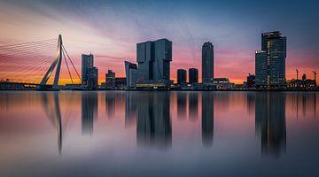 Skyline Rotterdam Fine Art van
