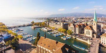 Zürich in Zwitserland van Werner Dieterich