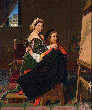 Raffael und die Fornarina, Jean Auguste Dominique Ingres