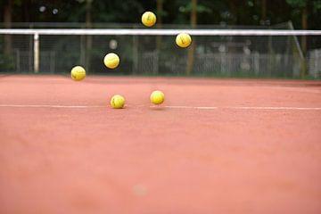 Ballen in de lucht von Inge van der Hart Fotografie