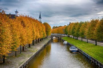 Sloten in herfsttooi van Franke de Jong