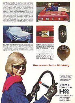 Vintage advertentie 1965 van Jaap Ros