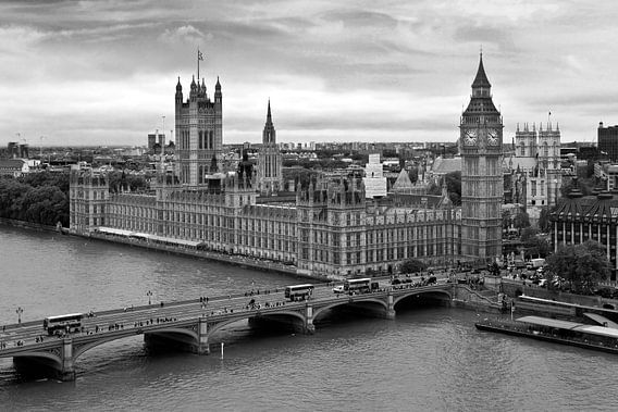 Palace of Westminster te Londen van Anton de Zeeuw
