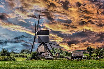 Vlietmill, Lexmond, The Netherlands van Maarten Kost