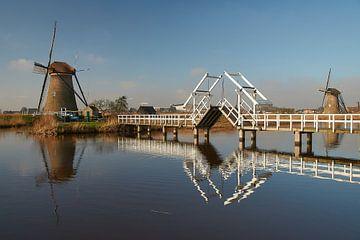 World Heritage Kinderdijk Windmühlen von Ad Jekel