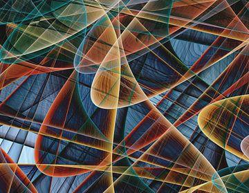 Composition abstraite 442 van Angel Estevez