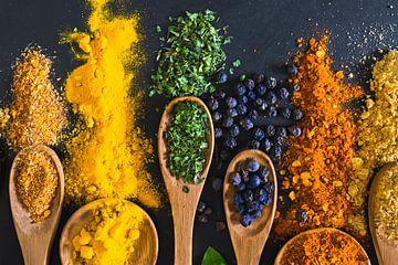 spices & herbs, specerijen & kruiden