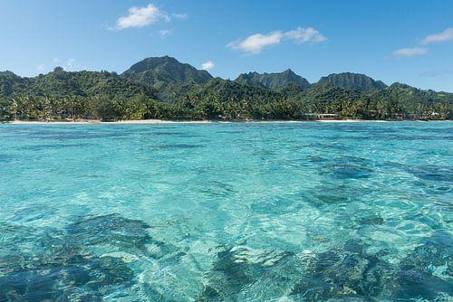 Lagune Rarotonga van Laura Vink