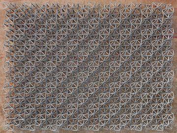 Relief K3 Eisendraht von Frans Blok