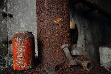 rusty coca cola van jordy van der horst