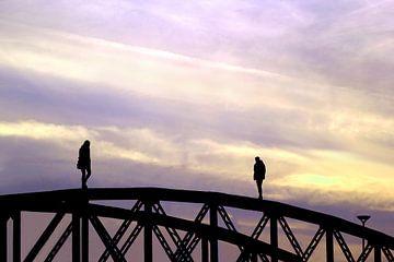 Brückenbegegnung von
