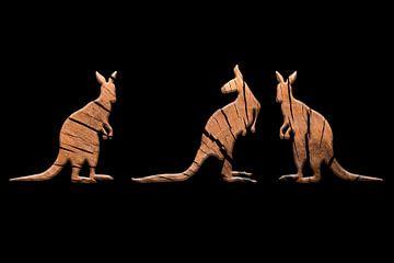 Känguru-Trio 1 von Catherine Fortin