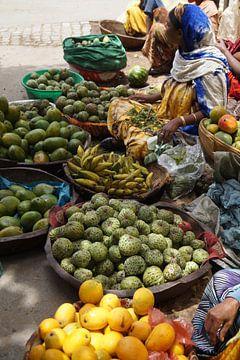 de markt van Harar van