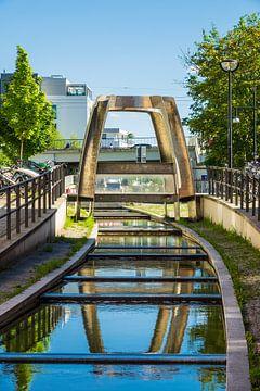 Die Viergelindenbrücke in der Hansestadt Rostock von Rico Ködder