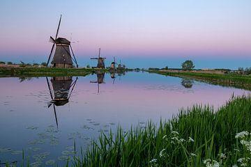 Kinderdijk Windmühlen von Jeroen Bukman