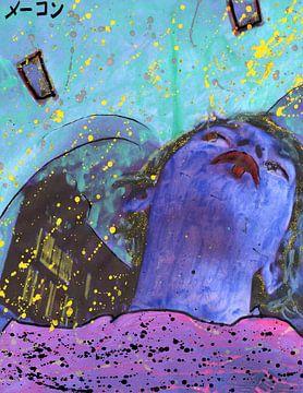 Blauwe onderkin van Atelier Liesjes