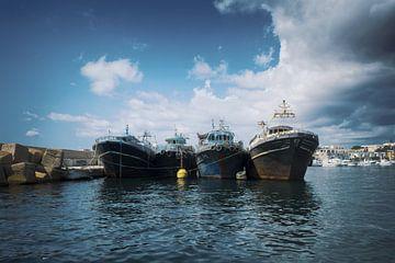 Lampedusa haven 2 van Elianne van Turennout