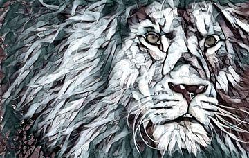 Löwe, der König von Rietje Bulthuis