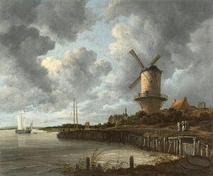 De molen bij Wijk bij Duurstede, Jacob Isaacksz. van Ruisdael