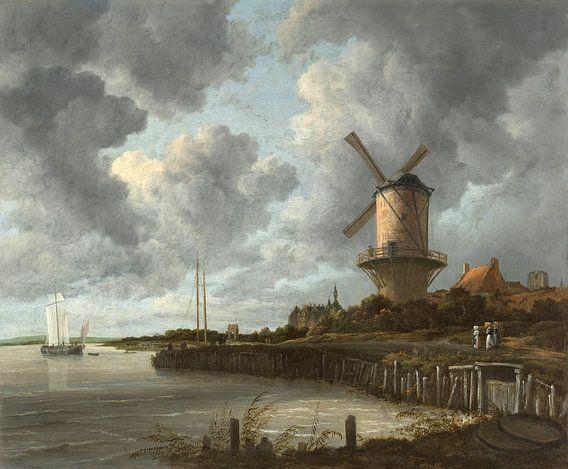 Die Mühle von Wijk bij Duurstede - Jacob van Ruisdael