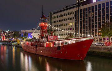 Das Feuerschiff 11 im Wijnhaven in Rotterdam von MS Fotografie | Marc van der Stelt