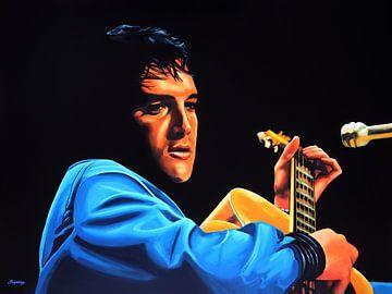 Elvis Presley schilderij van Paul Meijering