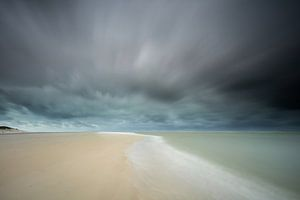 Storm op Texel van