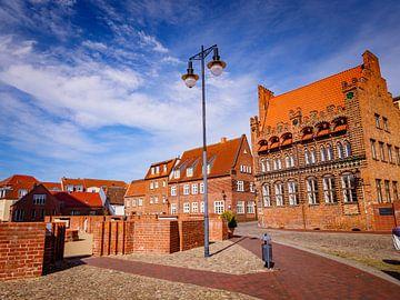 Oude stad van Wismar in Mecklenburg-Vorpommern aan de Oostzee van Animaflora PicsStock
