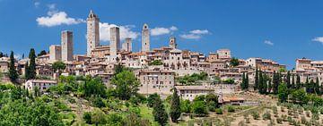San Gimignano, UNESCO werelderfgoed, Toscane, Italië van Markus Lange