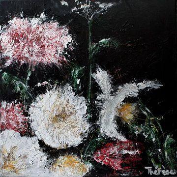 Peinture de fleurs sur Therese Brals