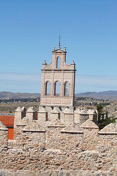 Stadtmauer, Altstadt, Avila, Spanien