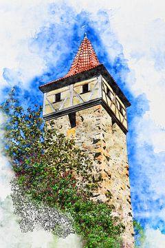 Burgturm von Claudia Evans