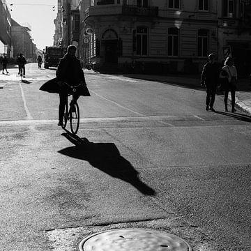 Radfahrer mit Schaden von FRE.PIC