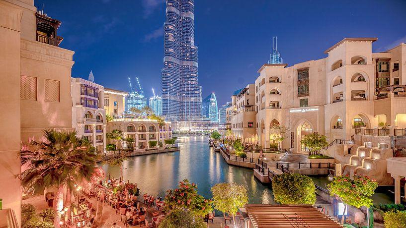 Dinner in Dubai van Maarten Drupsteen