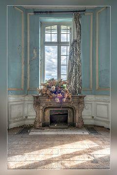 Verlaten Blue Summer van Frans Nijland